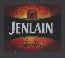 Etiquette De  Bière Ambré  -  Brasserie Duyck  à  Jenlain  (59) - Beer