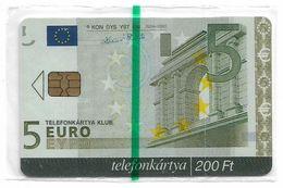 Hungary - Matáv - 5 Euro Banknote Card - 11.2004, 400ex, NSB - Hungría