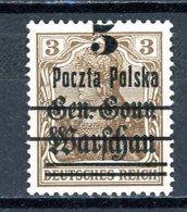 Pologne   Y&T   7     X    ---     Sans Gomme  --  TB - Gebraucht