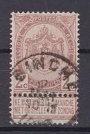 N° 55 BINCHE - 1893-1907 Coat Of Arms