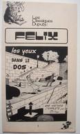 Tillieux. - Félix. - Les Yeux Dans Le Dos. - Récit Complet Spirou 1975. - Spirou Magazine