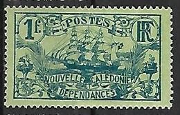 NOUVELLE-CALEDONIE N°102 N* - New Caledonia
