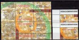 2006 Bosnia Saraevo Europa CEPT Integration MS And 2 V Paper -- MNH** MI B 30 + 437-438 - Europa-CEPT
