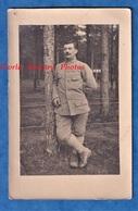 CPA Photo - Portrait D'un Poilu Du 144e Régiment - Voir Uniforme Pose Soldat Brodequins WW1 - Guerra 1914-18