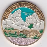 Medaille MOUSTIER (sans S) SAINTE-MARIE - LES GORGES DU VERDON. SOUVENIRS ET PATRIMOINE - Toeristische