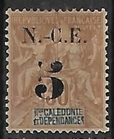NOUVELLE-CALEDONIE N°65 NSG - New Caledonia