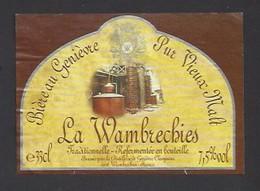 Etiquette De Bière Au Genièvre -  La Wambrechies  -  Brassée Pour Claeyssens à Wambrechies (59) - Beer