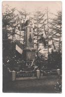 """88.355/ Carte Photo Monument """"Aux Enfants De MORTAGNE Morts Pour La France 1914.1918 - Other Municipalities"""