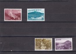 Japon Nº 717 Al 720 - Nuevos