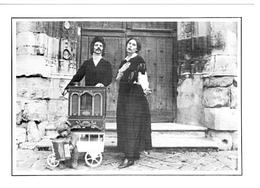 Agnes Et Jacques Joueurs Orgue De Barbarie 4 1980 état Superbe - Musique Et Musiciens