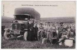 55 - T20359CPA - MARBOTTE - Souvenir Des Exhumations  - Mai, Juin 1921 - Camion Militaire - Parfait état - MEUSE - France