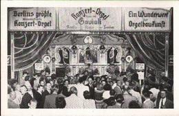 ! Alte Ansichtskarte Berlin , Gavioli Konzert Orgel - Sonstige