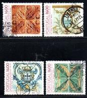 N° 1604,18,19,22 - 1984 - 1910-... Republic