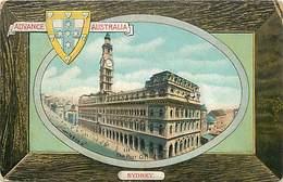 Pays Div-ref W316- Australie - Australia - Advance Australia-sydney- Post Office/-etat:petit Pli Coin Haut Droit - - Australia