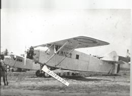 PHOTO AVION POTEZ  A IDENTIFIER       11X17CM - Aviazione