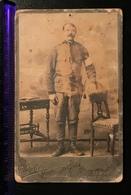 Photo On Cardboard Austro-Hungarian Officer Austro-Hungary Austria WWI (2.) - 1914-18