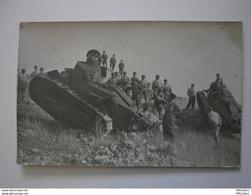 Lot De 3 Cartes Photo. Tanks. Régiment Tankiste (A2p54) - Régiments