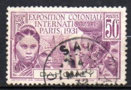 Col17  Colonie Dahomey  N° 100 Oblitéré  Cote 8,25€ - Dahomey (1899-1944)