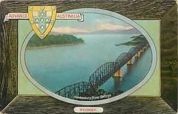 Pays Div-ref W315- Australie - Australia - Advance Australia-sydney- Hawkesbury River Bridge - Ponts - Pont - - Australia