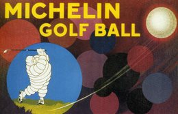 MICHELIN  Golf Ball - Publicidad