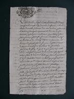 1779 Manuscrit Sur Vélin Généralité SAVOIE Verrens Ugine Cléry Frontenex Belle Calligraphie 4 Pages - Manuscrits