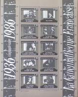 DF40266/932 - 1986 - LA CINAMATHEQUE FRANCAISE - BLOC N°9 NEUF** - Nuovi