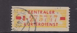 ZKD Wertstreifen Dienstmarken-B Michel Nr. 18 II N - Servizio
