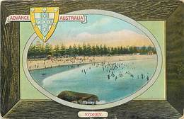 Pays Div-ref W313- Australie - Australia - Advance Australia -sydney- Manley Beach - - Australia