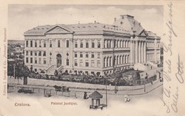 CRAIOVA , Romania , 1904 ; Palatul Justitiel - Roumanie