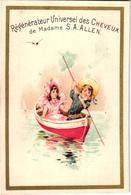 8 Cards Cheveux Hair Madame Allen Régénateur Universel Lithography  Pré 1900  Illustr.Champenois - Sonstige