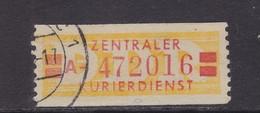 ZKD Wertstreifen Dienstmarken-B Michel Nr. 19 A - Servizio