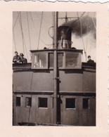 PHOTO ORIGINALE 39 / 45 WW2 WEHRMACHT FRANCE MER DU NORD CHASSEUR DE MINES M.1908 - Guerre, Militaire