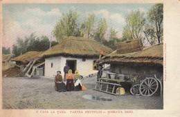 Romania , 1900-10s ; O Casa La Tara. Partea Prutului-Soseaua Reni - Romania