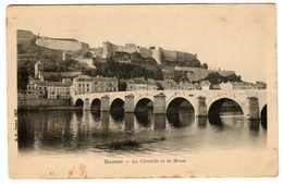 NAMUR - La Citadelle Et La Meuse - Dos Non Divisé - Namur