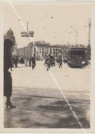 BILBAO VEIJA FOTO 1924 TRANVIA TRAM U8 LINEA 8 HOSPITAL - PUENTE SAN ANTON, GARAGE ARTURO M DEL PUERTO 8, AUTO VIEJO - Vizcaya (Bilbao)