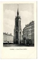 TOURNAI - Grand'Place Et Beffroi - Dos Non Divisé - Tournai