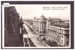 BEOGRAD - BELGRADE - RUE MILOCHE LE GRAND - TB - Servië