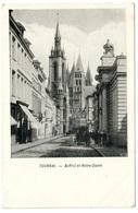 TOURNAI - Beffroi Et Notre-Dame - Dos Non Divisé - Tournai
