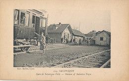 SALONIQUE  Gare De SALONIQUE -VILLE - Grèce