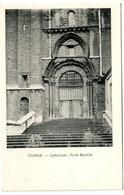 TOURNAI - Cathédrale. Porte Mantille - Dos Non Divisé - Tournai