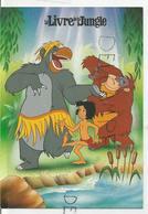 Baloo, Mowgli Et King Louie Dansent Au Bord De L'eau. - Disney