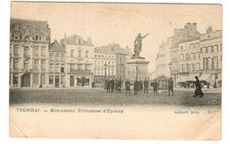 TOURNAI - Monument Princesse D'Epinoy - Dos Non Divisé - Tournai