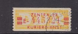 ZKD Wertstreifen Dienstmarken-B Michel Nr. 19 I E - Servizio