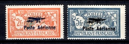 France Poste Aérienne YT N° 1 Et 2 Neufs *. Gomme D'origine. B/TB. A Saisir! - Aéreo