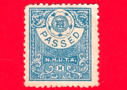 GIAPPONE - NIPPON - Nuovo - NHUTA - PASSED - Revenue Inspection Stamp - - Japan