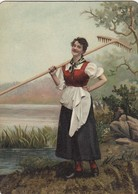 NORWAY , 1890s-1907 ; Native Woman #15 - Norway