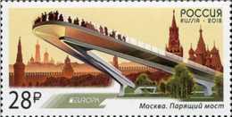 2018 Russia - CEPT Europa Bridges - MNH** MI 2537 - 2018