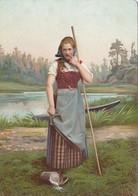 NORWAY , 1890s-1907 ; Native Woman #16 - Norwegen