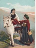 NORWAY , 1890s-1907 ; Native Women & Horse #17 - Norway