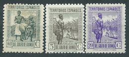 Guinea Correo 1941 Edifil 264/6 (*) Mng - Guinea Española